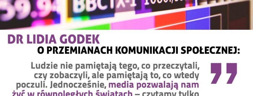 (Polski) Dr Lidia Godek o komunikacji w dobie polityki postprawdy