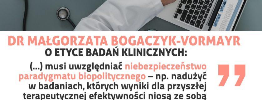 (Polski) Filozoficzna refleksja nad badaniami klinicznymi