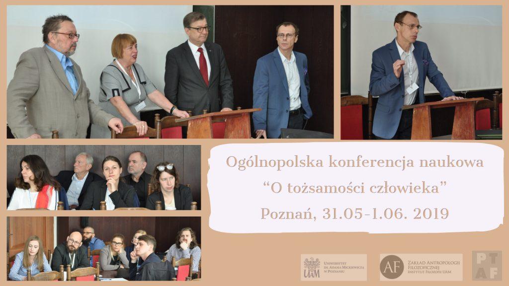 """Ogólnopolska konferencja pt. """"O tożsamości człowieka"""""""