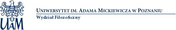 Wydział Filozoficzny UAM